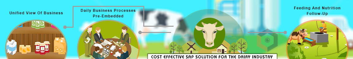 Logicaldna dairy industries sap solution