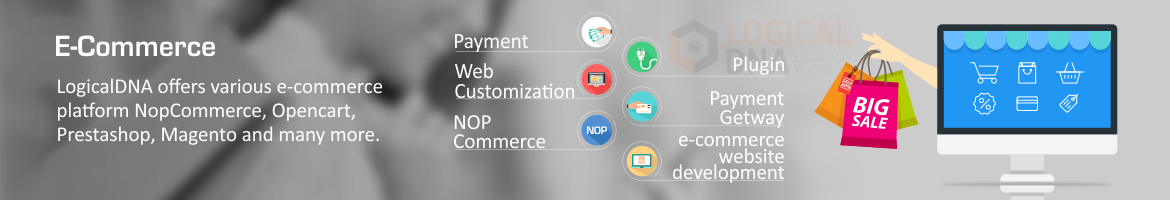 Logicaldna e-commerce solutions